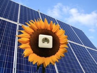 Energie durch die Sonne