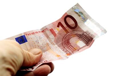 Zehn-Euro-Schein