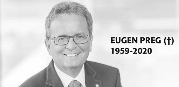 Trauer um Eugen Preg